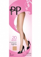 Pretty Polly Everyday 20D Smooth Knit Tights Xxtra
